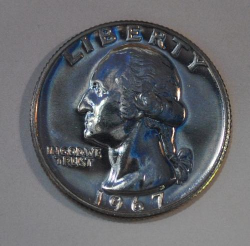1967 P Washington Quarter SMS
