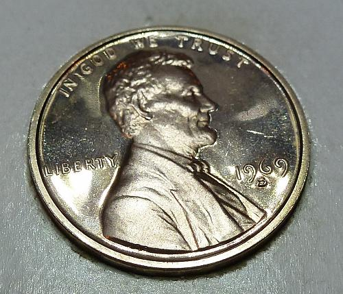 1969- S Gem Proof Cent Memorial Lincoln Cent (3133)