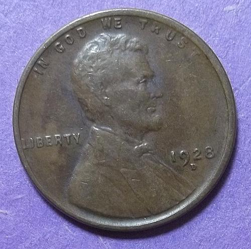 1928 D Lincoln Wheat Penny Lot PWH8z