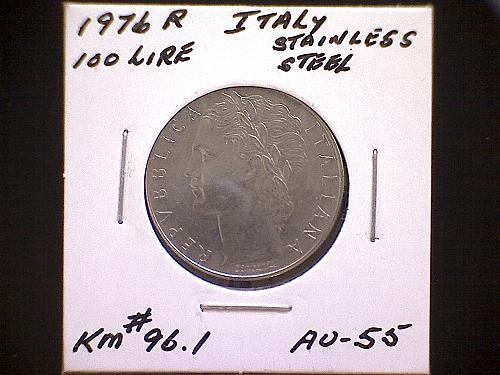 1976 ITALY  ONE HUNDRED LIRE