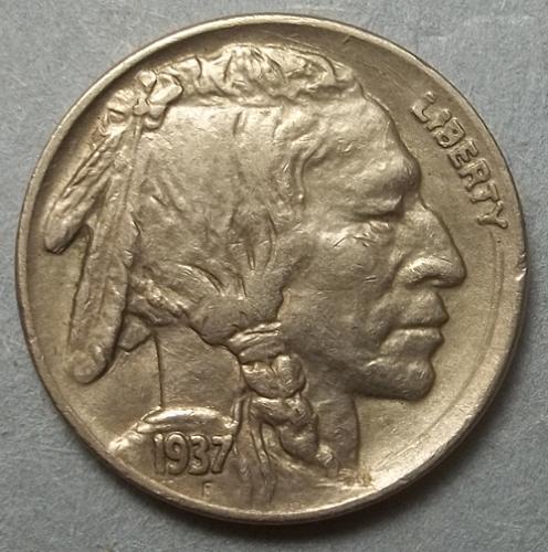 1937 P Buffalo Nickel Lot BNSRB