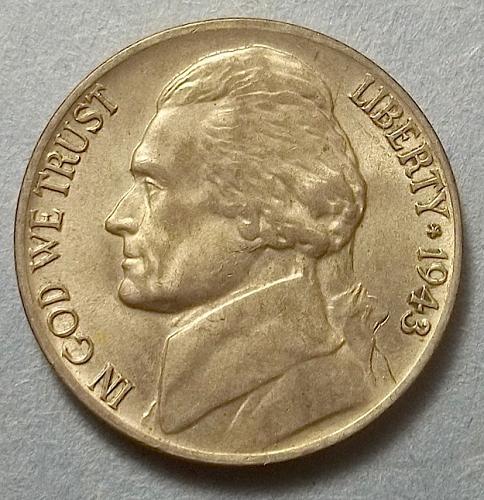 1943 P Wartime Jefferson Nickel Lot WTNpk