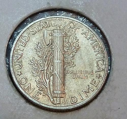 1944-P AU  Mercury Dime About Uncirculated ( 1610)