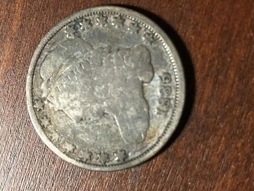 1835 Capped Bust Dime Item 0818373