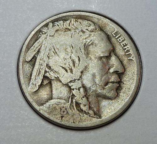 1918-P Very Good Buffalo Nickel G Grade ( 4191)