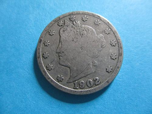 1902 P Liberty Nickel