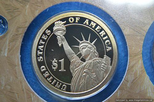 2009 S Presidential Dollars: James K. Polk Proof