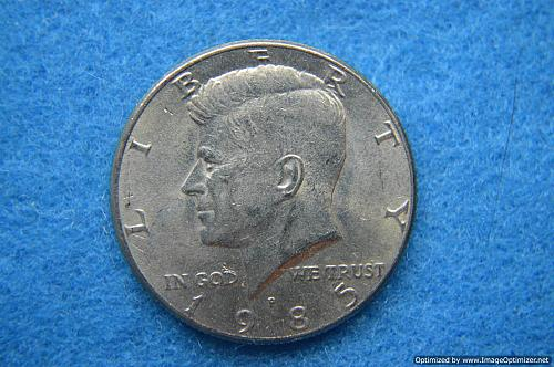 1985 P Kennedy Half Dollars