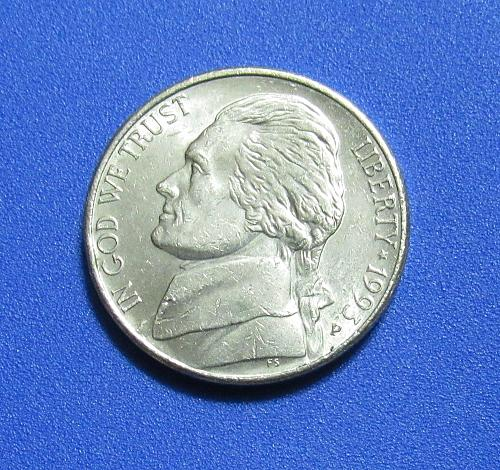 1993-P Jefferson Nickel