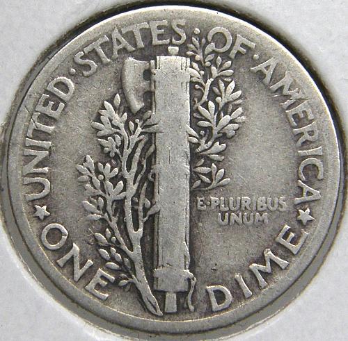 1935 P Mercury Dime #1