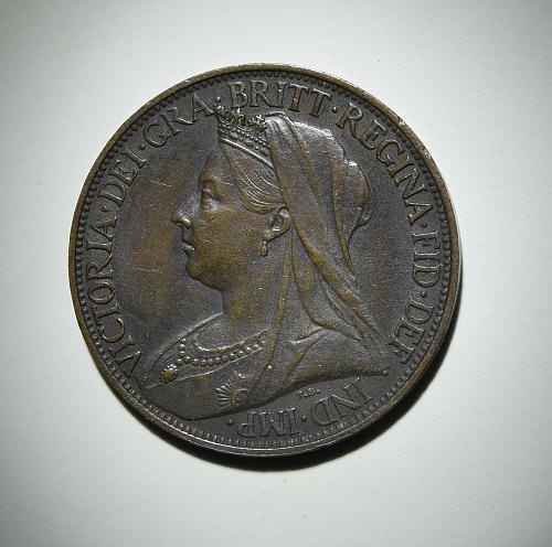 1897 Great Britain Farthing