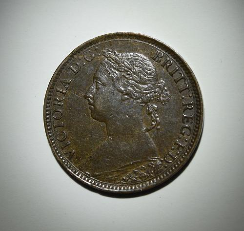 1886 Great Britain Farthing