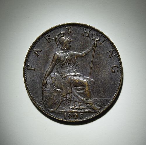 1905 Great Britain Farthing