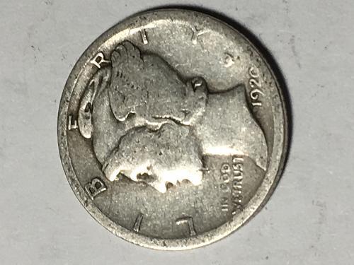 1920 D Mercury Dime Item 0918273