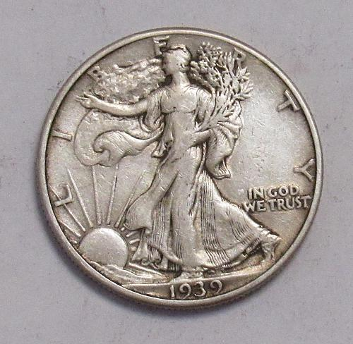 1939 P Walking Liberty Half Dollar