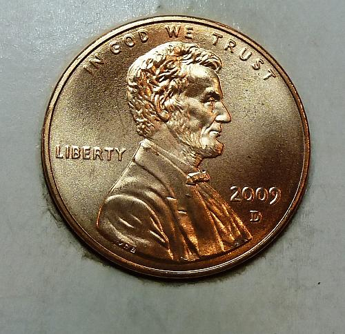 2009 -D Satin Finish Gem Uncirculated Memorial Lincoln Cent Early Childhood (179