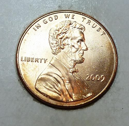2009 -P Satin Finish Gem Uncirculated Memorial Cent Formative Years (1795)