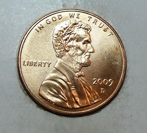 2009 -D Satin Finish Gem Uncirculated Memorial Cent Formative Years (1795)