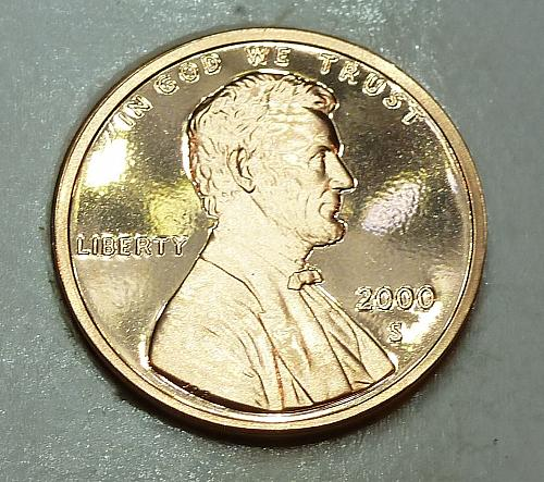 2000-S Gem Proof Cent Memorial Lincoln Cent (1799)
