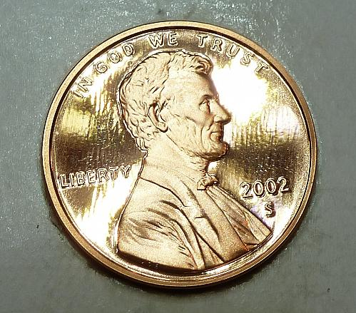 2002-S Gem Proof Cent Memorial Lincoln Cent (1783)