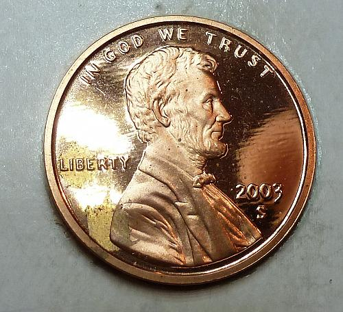 2003-S Gem Proof Cent Memorial Lincoln Cent (1784)