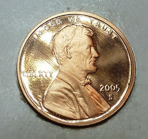 2005-S Gem Proof Cent Memorial Lincoln Cent (1786)