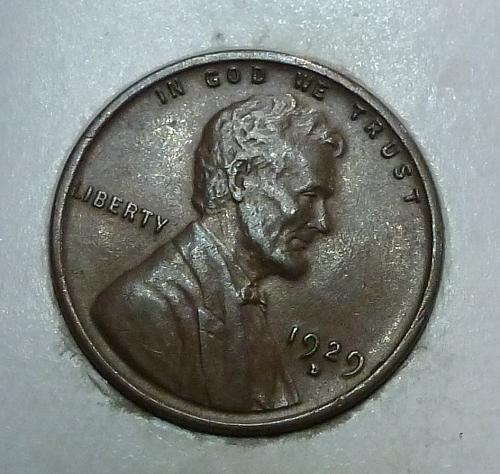 1929-D Uncirculated Lincoln Wheat Cent  UNC ( 1766)