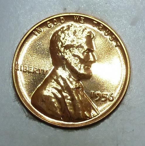 1956-P Gem Proof Cent Lincoln Wheat Cent (1773 )