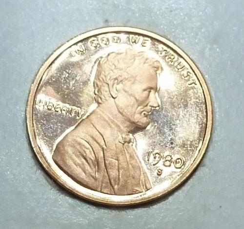 1980- S Gem Proof Cent Memorial Lincoln Cent (1780)