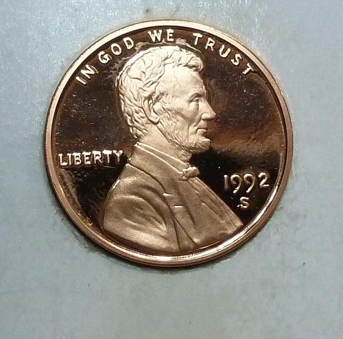 1992- S Gem Proof Cent Memorial Lincoln Cent (1791)