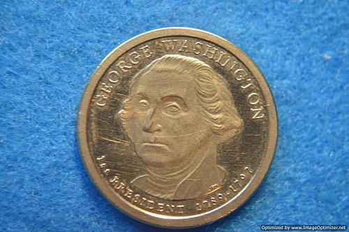 2007 S Presidential Dollars: George Washington Proof