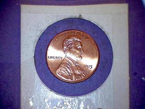 2015 Lincoln Shield Cent