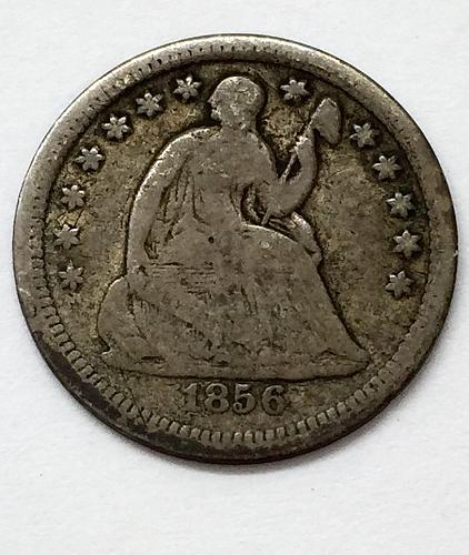 1856 Seated Liberty Half Dime
