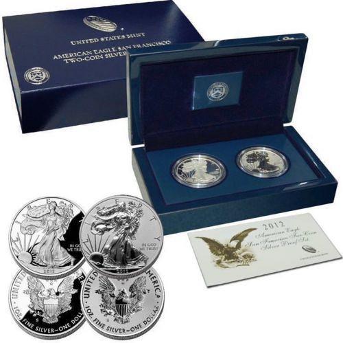 2012-S US Mint American Eagle San Francisco 75th Anniversary Proof Set (EG1)