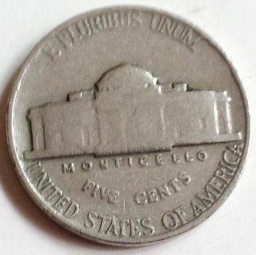 1940 P Jefferson Nickel