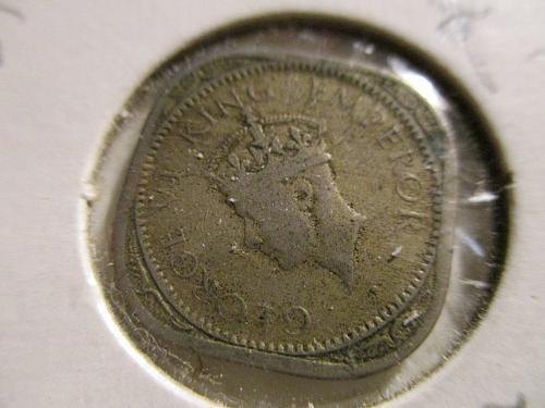 Two India Anna Coins: 1 Anna and a 2 Anna 1946 & 1947