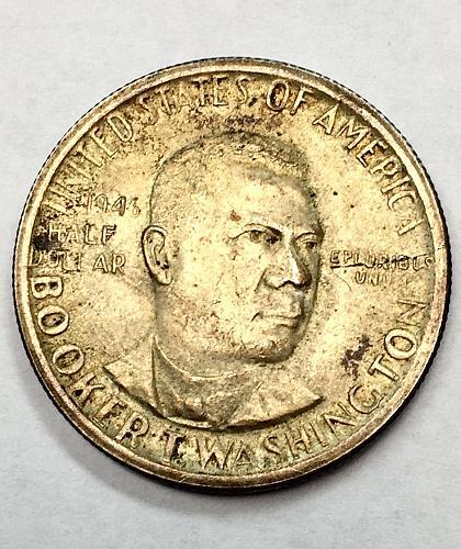 1946 S Booker T. Washington Commemorative Half Dollar