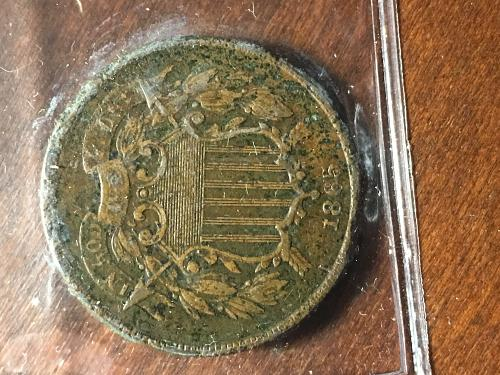 1865 Two Cent Item 0918655