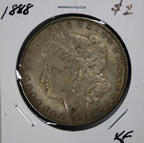 1888 Morgan $1