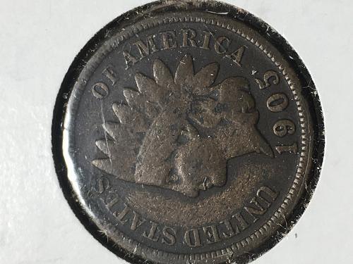 1905 Indian Head Cent Item 0918792
