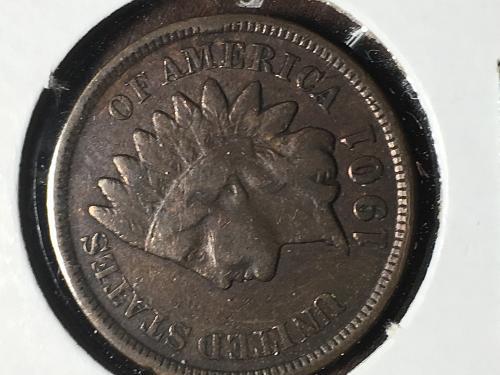 1901 Indian Head Cent Item 0918795