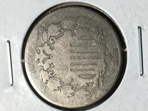 1868 Shield Nickel Item 0918804