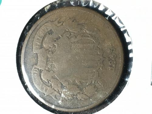 1865 Two Cent Item 0918807