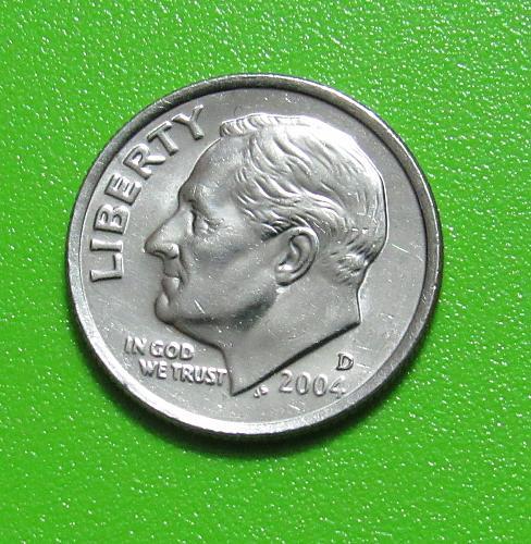 2004-D 10 Cents - Roosevelt Dime