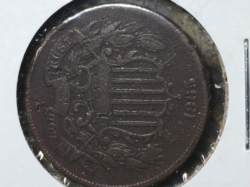 1865 Two Cent Item 1018026