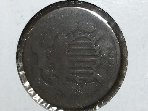 1864 Two Cent Item 1018029