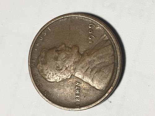 1909 Lincoln Wheat Cent Item 0918691