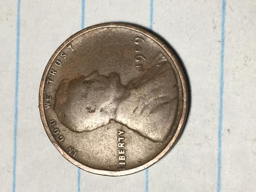 1909 Lincoln Wheat Cent Item 0918699