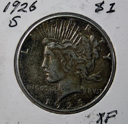 1926 S Peace $1