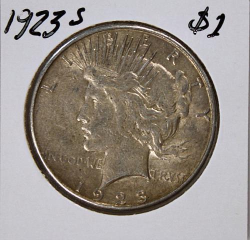 1923 S Peace $1